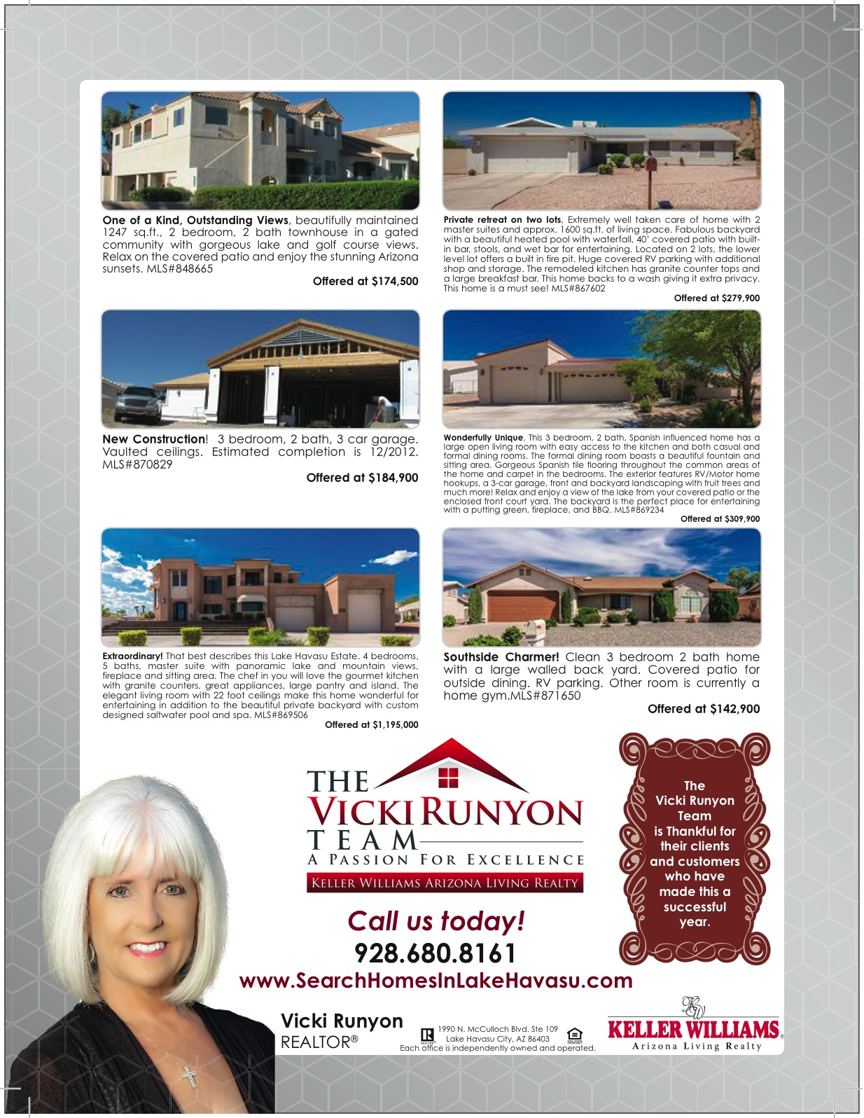 Keller williams arizona living realty tvrtb for Ad house